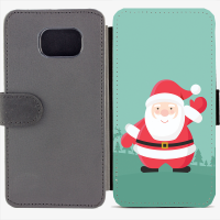 Калъф тип тефтер за Samsung Galaxy S6 Edge G925 - christmas3