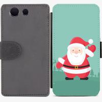 Калъф тип тефтер за Sony Xperia Z3 compact - christmas3