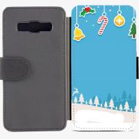 Калъф тип тефтер за Samsung Galaxy A3 - christmas5