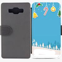 Калъф тип тефтер за Samsung Galaxy A5 - christmas5