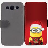 Калъф тип тефтер за Samsung Galaxy S3 Neo I9301, 9300I - christmas