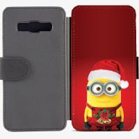 Калъф тип тефтер за Samsung Galaxy A3 - christmas