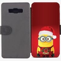 Калъф тип тефтер за Samsung Galaxy A7 - christmas