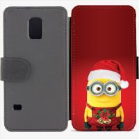 Калъф тип тефтер за Samsung Galaxy S5 mini G800 - christmas