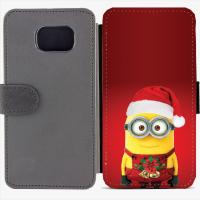 Калъф тип тефтер за Samsung Galaxy S6 Edge G925 - christmas