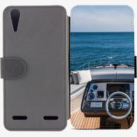 Калъф тип тефтер за Lenovo A6000 - yacht