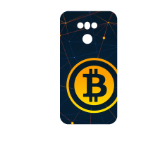 Силиконов гръб - 3d за LG G6 - bitcoin