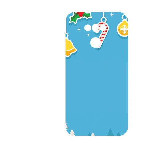 Силиконов гръб - 3d за LG G6 - christmas5