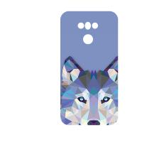 Силиконов гръб - 3d за LG G6 - wolf