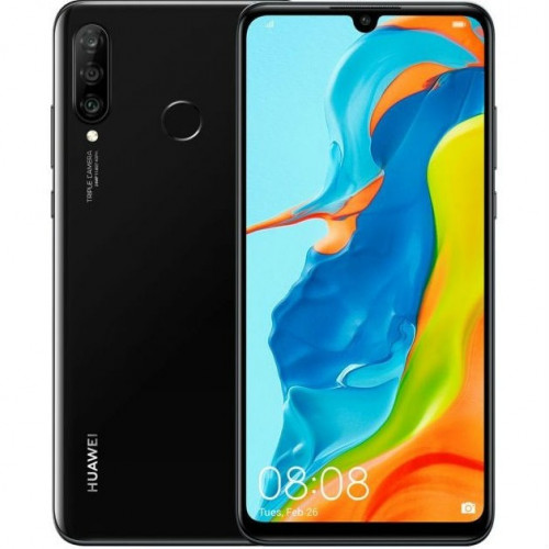 Huawei P30 Lite (2020) 256GB 6GB RAM Dual Black