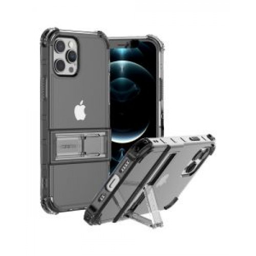 Гръб ARAREE Mach Stand - Apple iPhone 12 Black