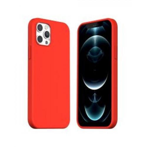 Гръб ARAREE Typoskin - Apple iPhone 12 Red