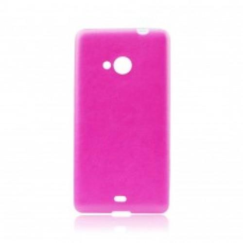 Силиконов калъф Jelly Case Leather - Sony Xperia Z5 Compact розов
