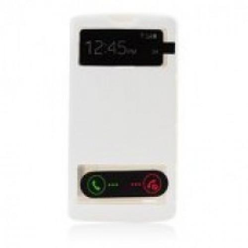 Калъф S-View - LG G3 бял