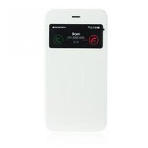 Калъф S-View Flexi - LG G3 бял