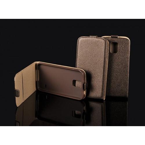 Кожен калъф тефтер - Apple iPhone 6 кафяв