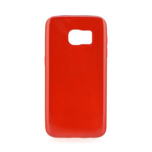 Силиконов калъф Jelly bright - Samsung Galaxy S7 червен