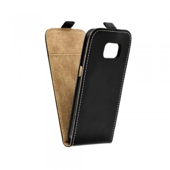 Калъф Flip Case Slim Flexi - Huawei P10 Lite черен