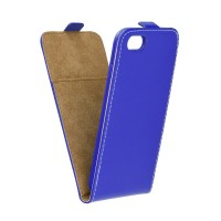 Калъф Flip Case Slim Flexi - Apple iPhone XS Max син