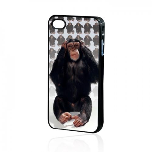 Силиконов калъф - Apple iPhone 4 маймуна