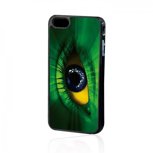 Силиконов калъф - Apple iPhone 4 очи