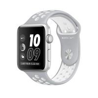 Apple Watch Nike+ MNNT2 42mm Silver