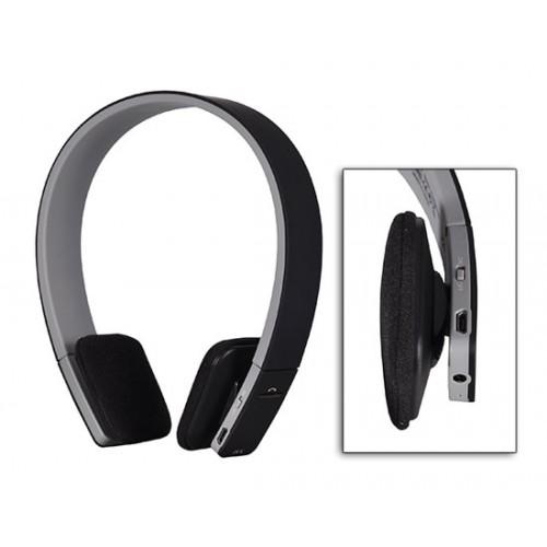Безжични Bluetooth слушалки с микрофон BQ618 Black
