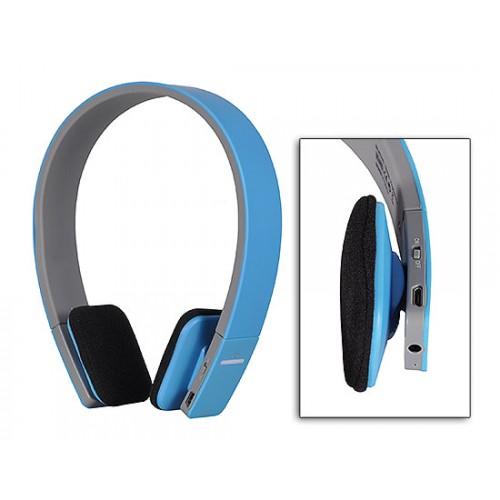 Безжични Bluetooth слушалки с микрофон BQ618 Blue