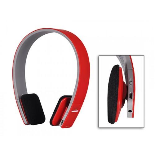 Безжични Bluetooth слушалки с микрофон BQ618 Red