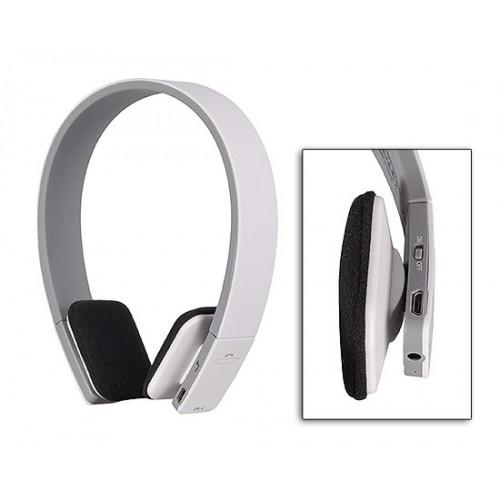 Безжични Bluetooth слушалки с микрофон BQ618 White