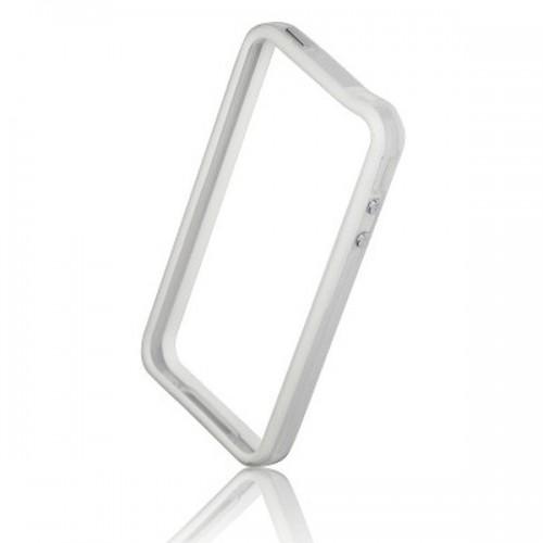 Силиконов Bumper - Apple iPhone 5S бял