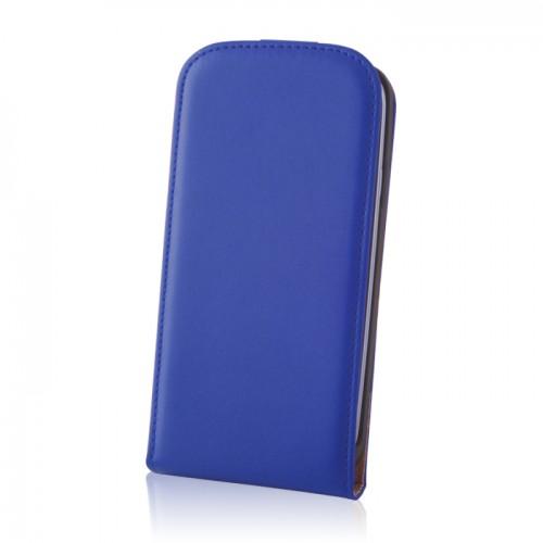 Кожен калъф Deluxe - Nokia Lumia 930 син