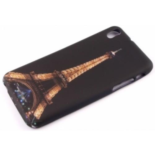 Силиконов калъф Design - Huawei P7 Айфелова кула