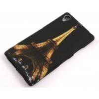 Силиконов калъф Design - Sony Xperia Z1 Айфелова кула
