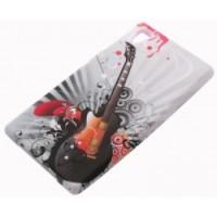 Силиконов калъф Design - Sony Xperia Z1 китара