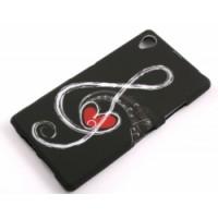 Силиконов калъф Design - Sony Xperia Z1 нота