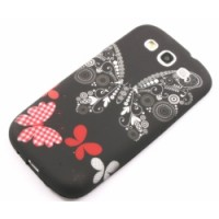 Силиконов калъф Design - Samsung Galaxy S5 пеперуда