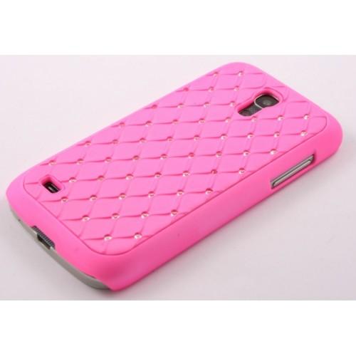 Калъф Diamond - Samsung Galaxy S4 Mini розов
