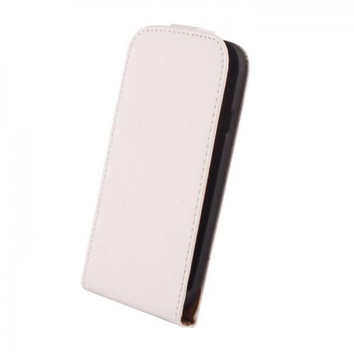 Кожен калъф Elegance - LG G2 Mini бял