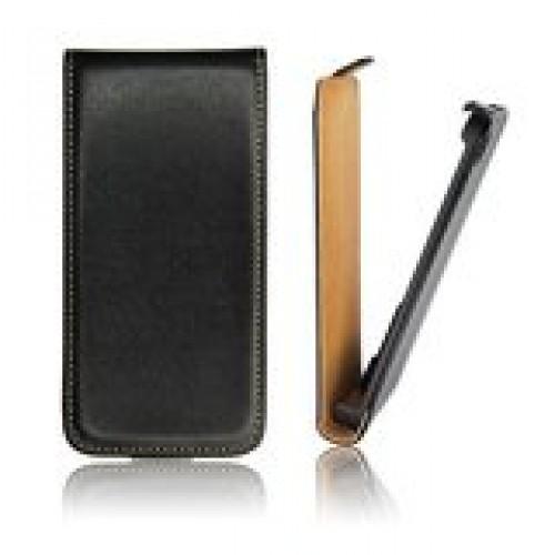 Кожен калъф flip - Samsung Galaxy Note 4 черен