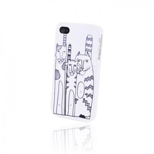 Пластмасов калъф - Sony Xperia Z1 котки