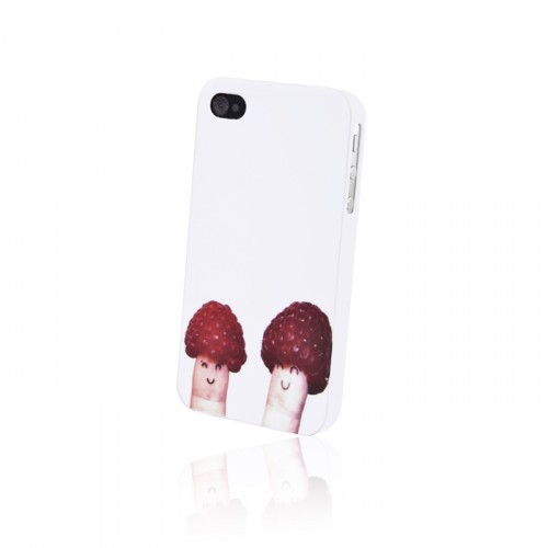 Пластмасов калъф - Apple iPhone 4 малини