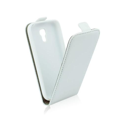 Калъф тефтер Slim flexi - Samsung Galaxy S6 Edge бял