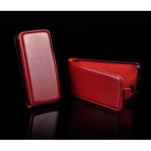 Калъф тефтер Slim flexi - Microsoft Lumia 640 червен