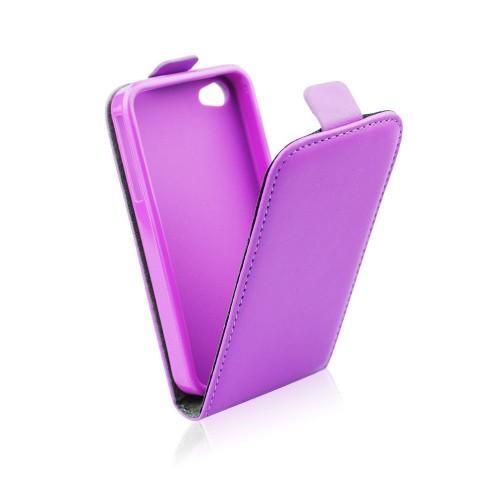 Калъф тефтер Slim flexi - Microsoft Lumia 640 лилав