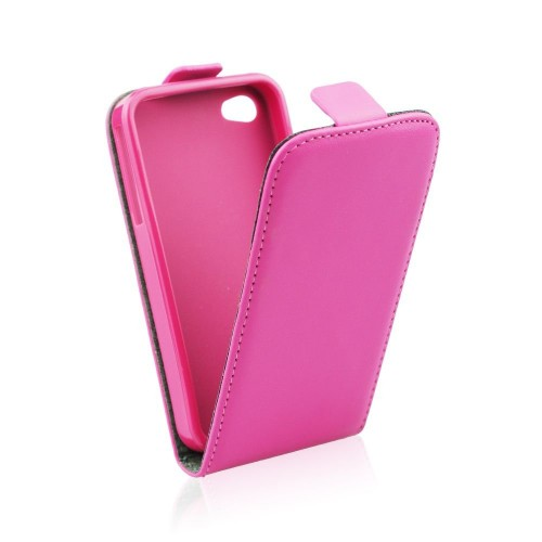 Калъф тефтер Slim flexi - Apple iPhone 6 розов
