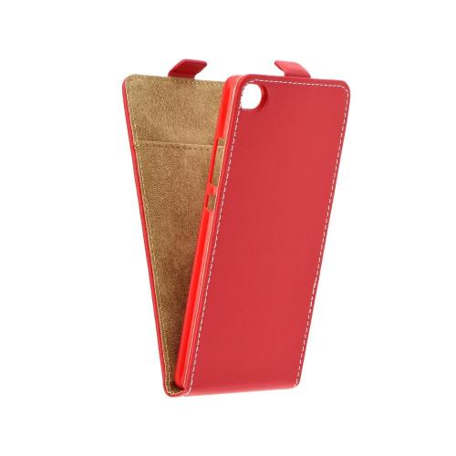 Калъф тефтер Slim flexi - Huawei Nova червен