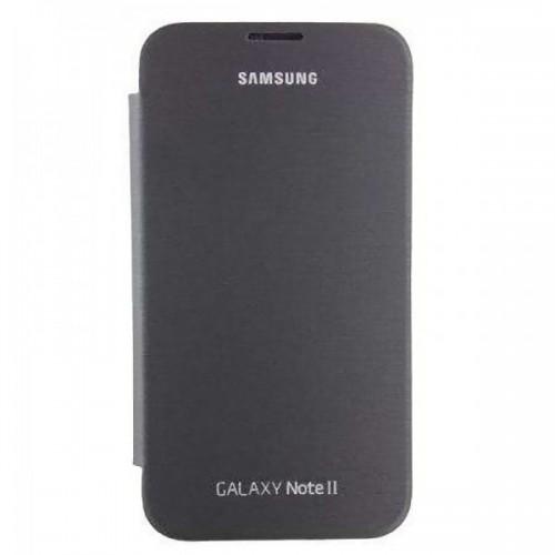 Калъф Flip Cover - Samsung Galaxy Note 2 черен