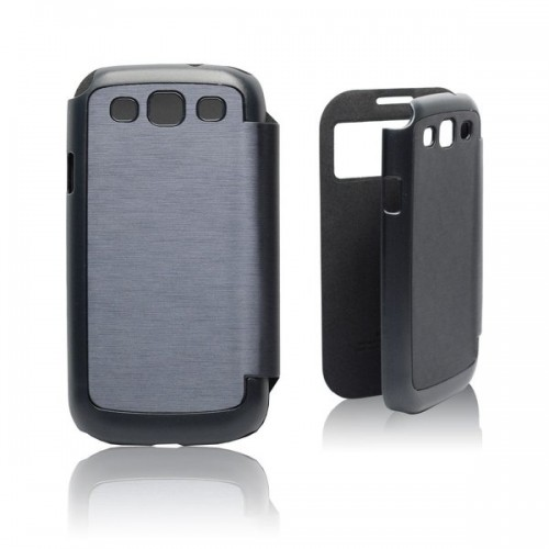 Калъф Flip Cover Easy View - Samsung Galaxy Note 3 тъмно син