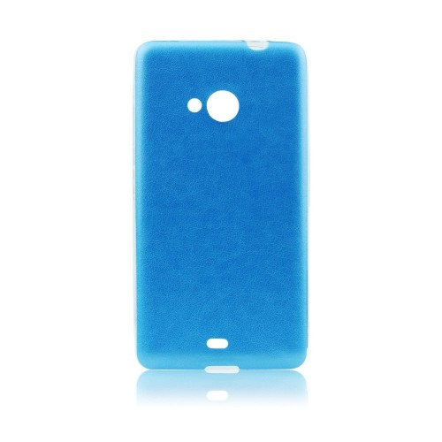 Силиконов калъф Jelly Case Leather - Samsung Galaxy Xcover 3 син